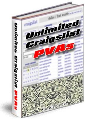 Product picture Create Unlimited Craigslist PVA